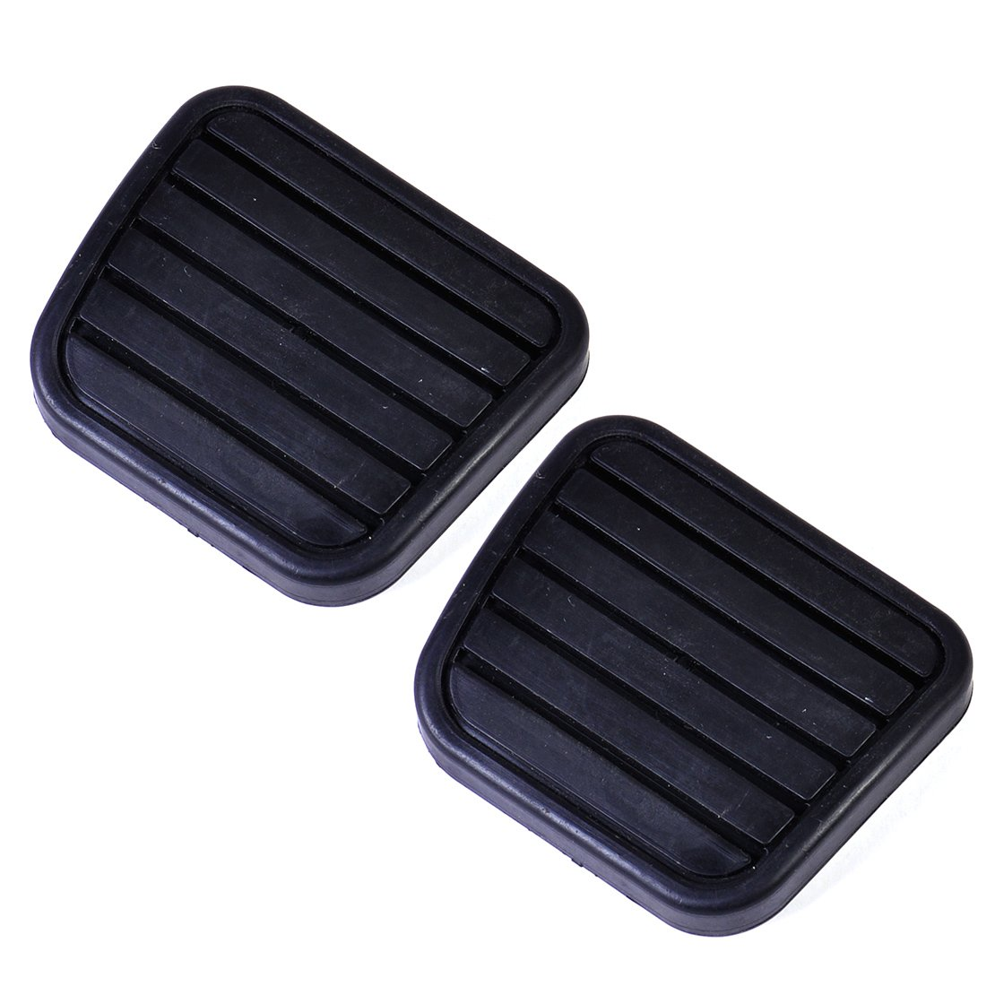2pcs Car Clutch Brake Pedal Pad Rubber Cover eastar