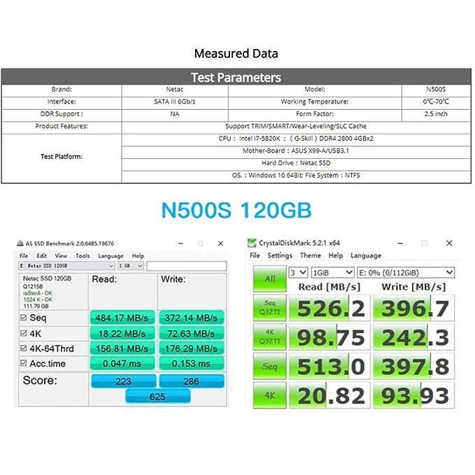 feiledi Trade 2,5 Pulgadas SSD de SATA Unidad de Estado sólido ...