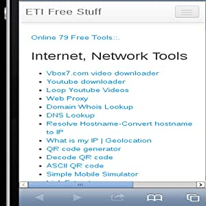Amazon com: ETI Online Tools: Appstore for Android