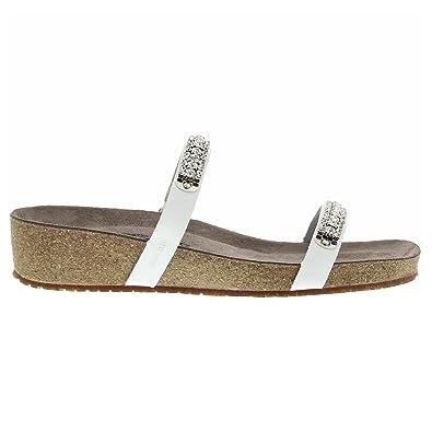 15cfefed53c Mephisto Womens Ivana White Leather Sandals 40 EU: Amazon.co.uk: Shoes &  Bags