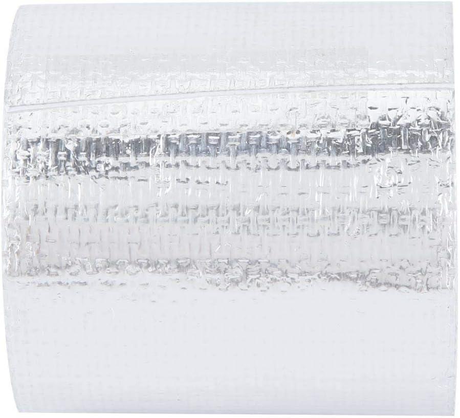 5cm Cinta Adhesiva del Abrigo del Escudo T/érmico del Escudo de Calor del Papel de Aluminio del Papel de Aluminio del Rollo de los 5m Silver