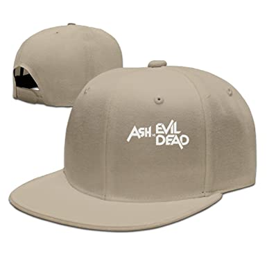 ZOENA Ash Vs Evil Dead Cotton Hats Breathable Snapback Cap For Outdoor  Sports Natural adf30afa33a