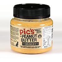 PIC'S 新西兰进口Pic's原味花生酱有盐颗粒 天然无添加面包酱1000g