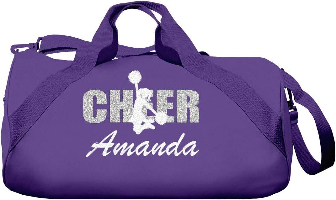 Totesntogs Cheerleader Duffel Bag with Glitter Stars