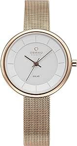 اوباكو ساعة رسمية للرجال - معدن، 19V206LRVWMV