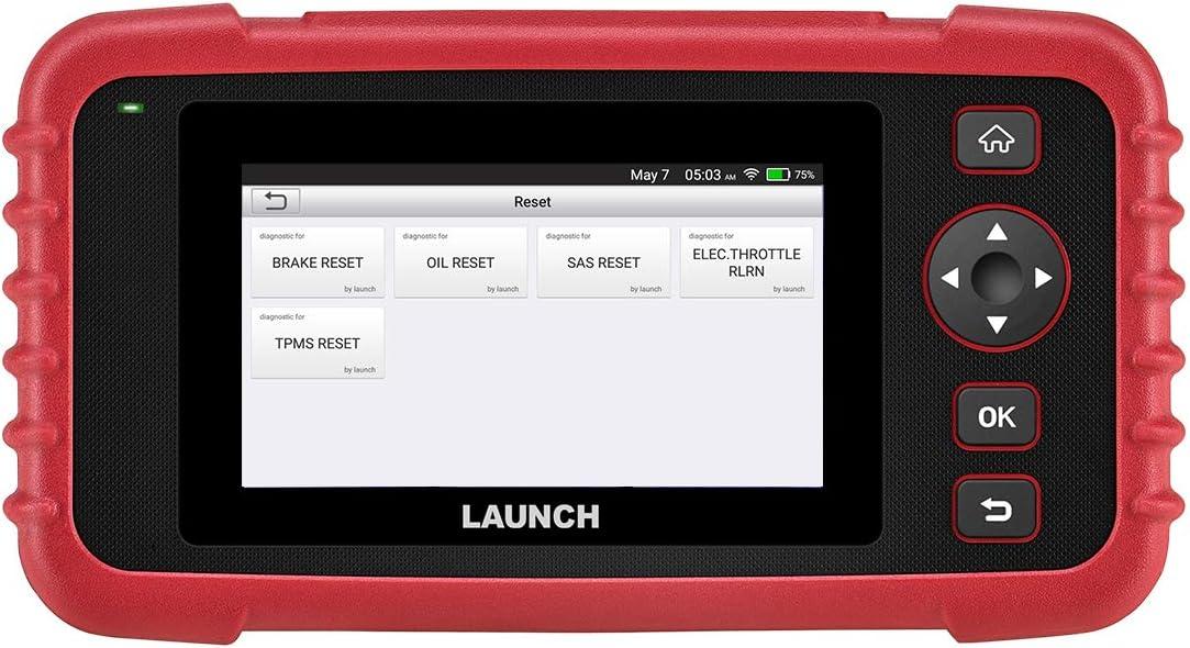 LAUNCH CRP129X Escáner OBD2 Lector de Códigos Diagnosis Profesional con AutoVIN para Motor Transmisión ABS SRS Airbag EPB SAS TPMS y Aceleración (versión 2019 CRP129)