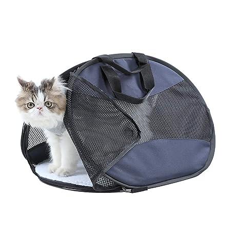 OMEM - Bolsa de Transporte Plegable para Mascotas, para Gatos ...