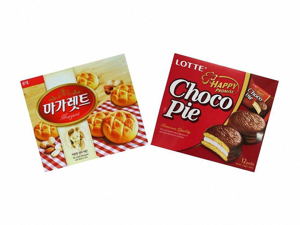 Lotte 2 Pack Combo Margaret Cookie 12.06oz Choco-pie 11.85oz