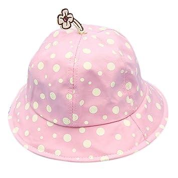 Chytaii Chapeau de Pêche pour Enfant Bébé Chapeau de Soleil en Coton Fille  Garçon Anti- 16fecca84ff