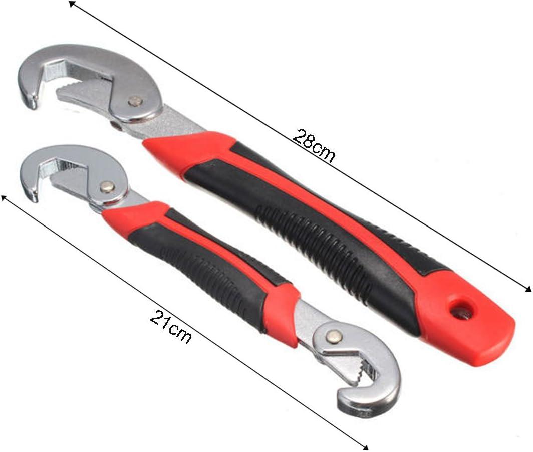 9 mm JJOnlineStore-Multi-Function universale 2 Snap N rapido impugnatura a 32 mm DIY-Chiave inglese a mano