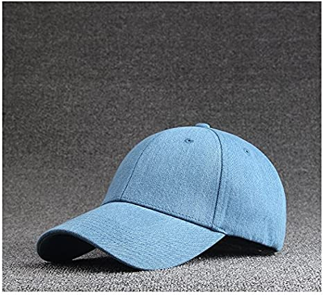 ledila Pack de 3, 100% algodón tela vaquera Gorra de béisbol, sombrero de pesca, ajustable Fashion sombrero, Azul: Amazon.es: Deportes y aire libre