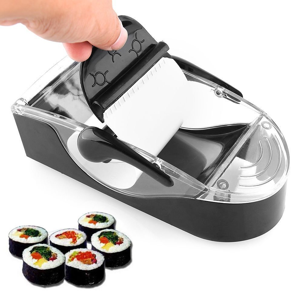 KINGZHUO Perfect Sushi Roll Maker Kit Sushi Maker Roller equipment DIY Easy Kitchen Magic Gadget Kitchen Accessories