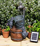 Solar Powered Buckets and Tap Water Feature