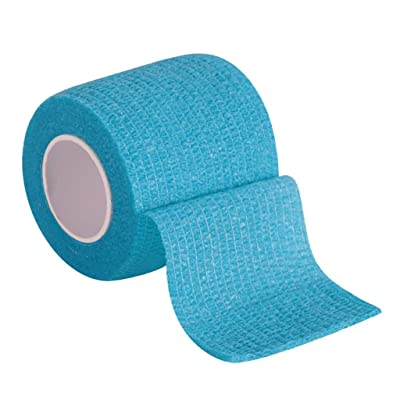 TADAMI Athletic Tapes Wraps,Self Adherent Cohesive Wrap Bandages Bundle,Elastic Breathable Cotton Waterproof Strong Adhesive,Stretch Wrap Roll,Tendon Joint Ligament Muscle Pain Relief (Sky Blue): Baby [5Bkhe0203125]