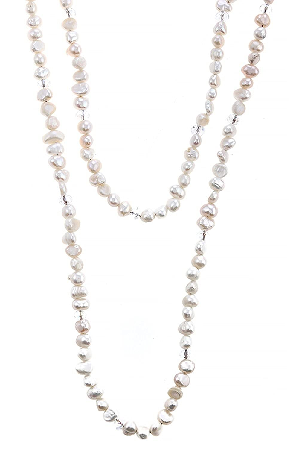 KARMAS CANVAS FRESH WATER PEARL NECKLACE