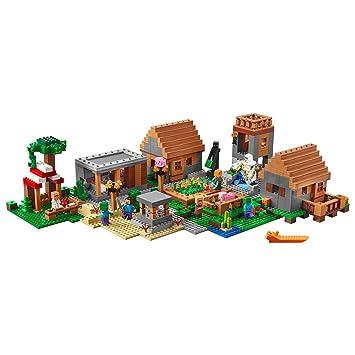 LEGO Minecraft 21128 The Village Building Kit (1600 Piece) by LEGO ...