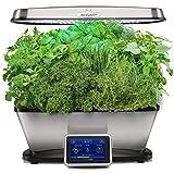 AeroGarden Bounty Elite with Gourmet Herb Seed Pod Kit, Stainless