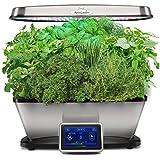 AeroGarden Bounty Elite Wi-Fi with Gourmet Herb Seed Pod Kit, Stainless