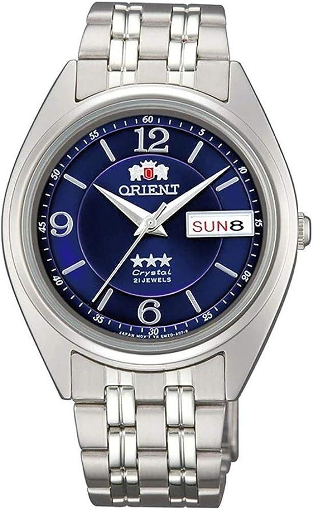 Orient Reloj Analógico para Unisex Adultos de Automático con Correa en Acero Inoxidable FAB0000ED9