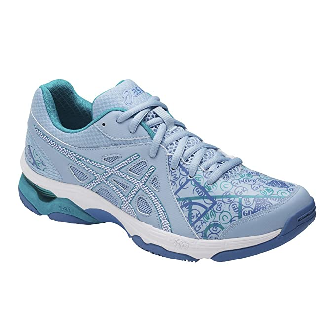 Asics Nouvelle Gel-Netburner Academy 7 Men  s Netball Shoes Sports, Bleu, 6d4b4b241828