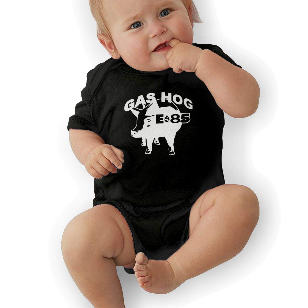 Bodysuits Clothes Onesies Jumpsuits Outfits Black Gas Hog E 85 Baby Pajamas
