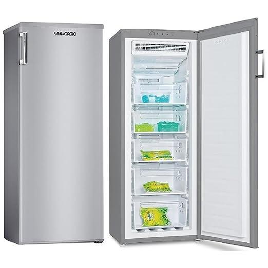 Congelador vertical no frost Capacidad 200 litros Clase A + ...