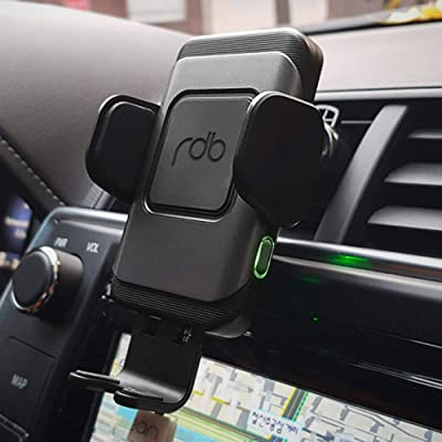 REDBEAN Wireless Car Charger Mount 10W Qi Fast Charging Automatic Clamping Dashboard Air Vent Phone Holder Compatible with iPhone 11 Pro 11 Pro Max XS Max XS XR X 8 8+,Samsung S10 S10+ S9 S9+ S8 S8+