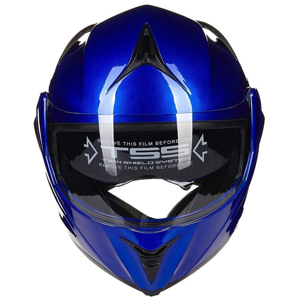ILM 10/colori moto Flip Up casco modulare DOT