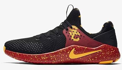 super popular 1ea58 edd47 Nike Men s Free TR 8 USC Training Shoes (Black Gold, ...
