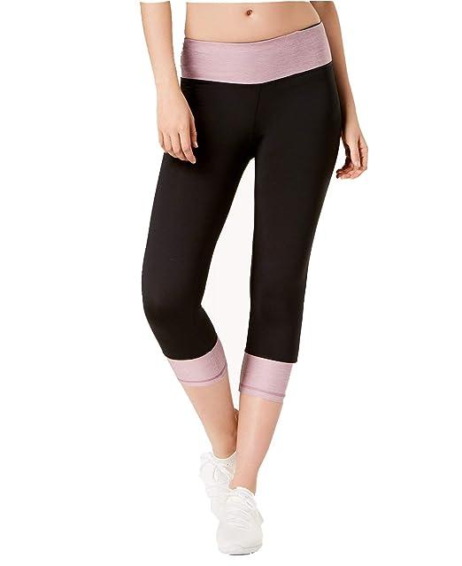 d6edbaf5b793a6 Ideology Women's Rapidry Colorblocked Capri Leggings at Amazon Women's  Clothing store: