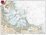 NOAA Chart 13270: Boston Harbor 21.00 x 27.28 (SMALL FORMAT WATERPROOF)