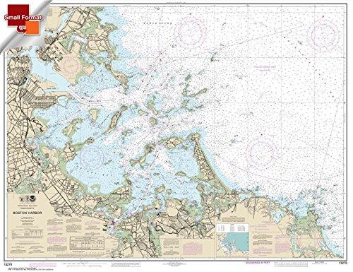 Paradise Cay Publications NOAA Chart 13270: Boston Harbor 21.00 x 27.28 (SMALL FORMAT WATERPROOF) (Boston Harbor Chart)