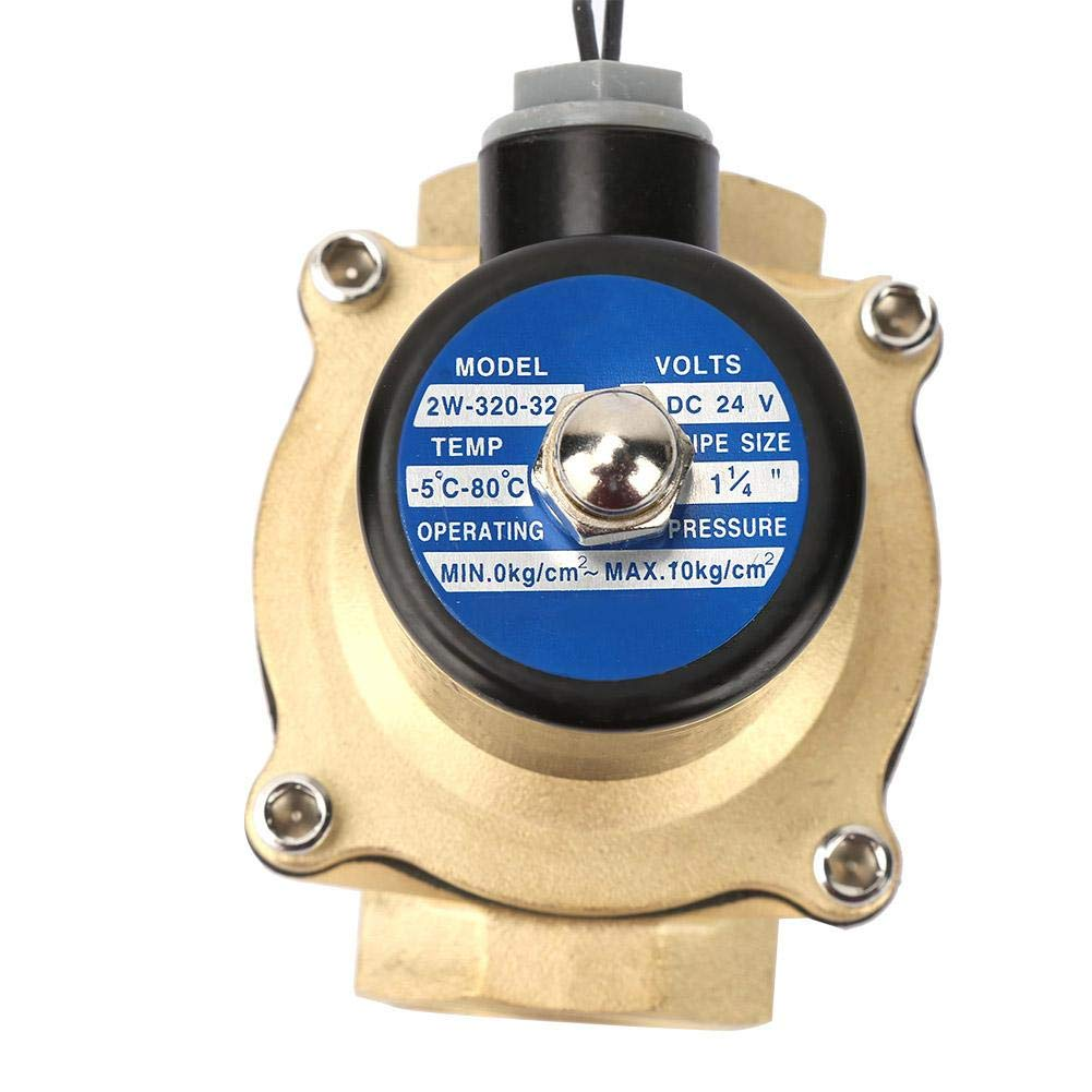 Solenoid Valve Brass Normally Closed Electric Solenoid Valve for Water Oil Gas
