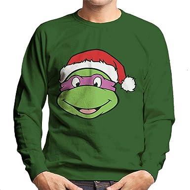 Teenage Mutant Ninja Turtles Donatello Christmas Hat Mens ...