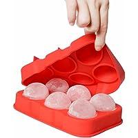 Forma Gelo Redondo Silicone Esfera Bolo Popcake Cozinha Casa