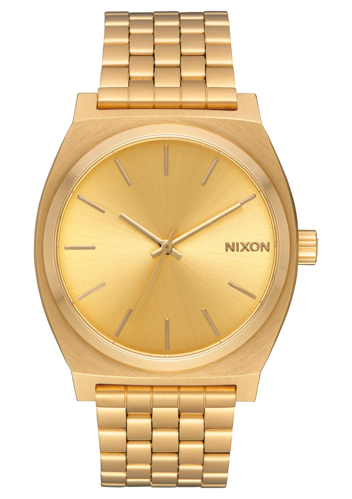 NIXON Time Teller A079 - All Gold/Gold - 134M Water Resistant Men's Analog Fashion Watch (37mm Watch Face, 19.5mm-18mm Stainless Steel Band) by NIXON