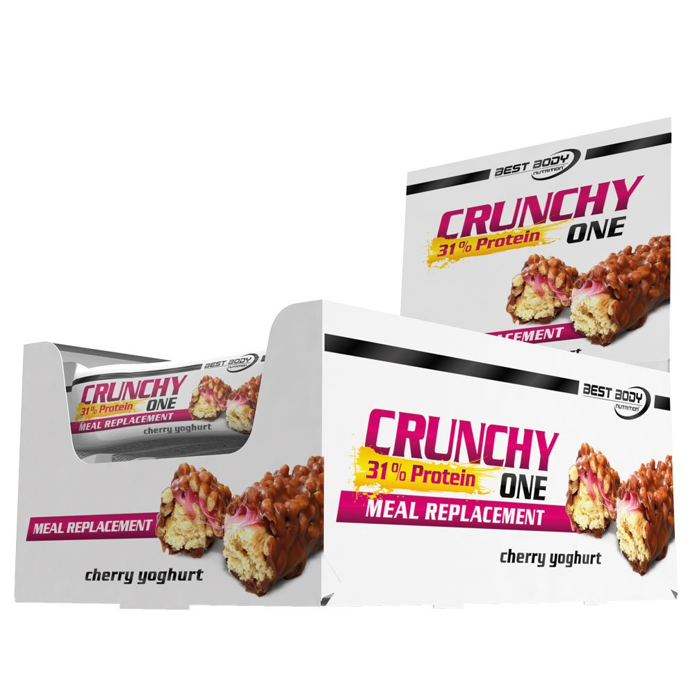 Best Body Nutrition Crunchy One Cherry Yoghurt - 60 gr: Amazon.es: Salud y cuidado personal