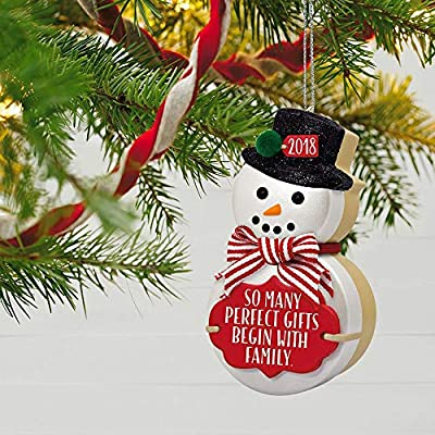Hallmark Keepsake Christmas Ornament 2018 Year Dated