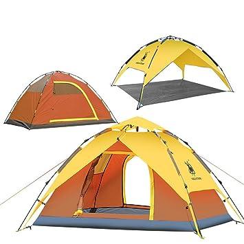 Gazelle extérieur imperméable 3 personne Pop Up Tente double 50 UPF Abri soleil Shade Tente
