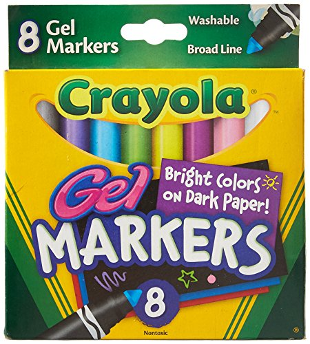 Crayola 8 Count Gel FX Washable Markers - 2 Packs ()