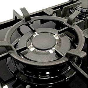 Gas Cooktop Black Cast Iron Stove Rack Trivets Wok Support Ring (A)