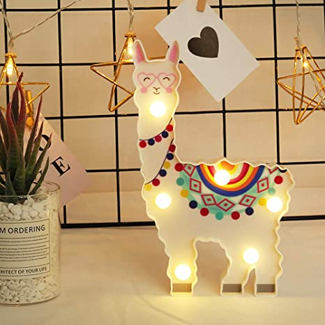 DierCosy Flamingo Night Light Silicone Bedside Light Battery Operated Cartoon Ornament Tabletop Lamp Outdoor Lighting