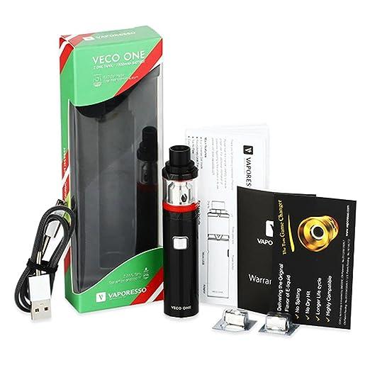 Vaporesso Veco One Starter Kit, no contiene nicotina, Negro: Amazon.es: Salud y cuidado personal