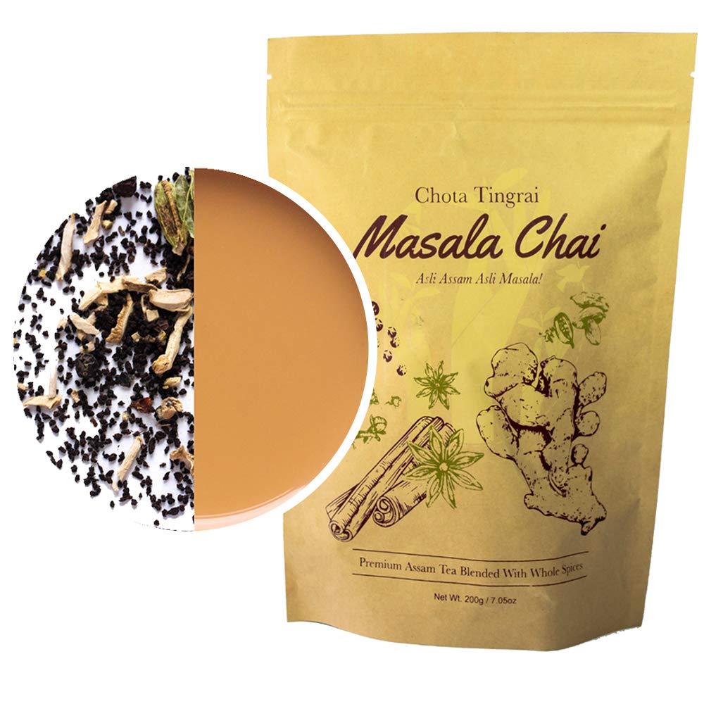 Organic Chai Tea by Mana Organics - A Masala Chai Tea Made with Whole Masala Spice: Cinnamon, Cardamom, Cloves, Pepper, Staranise and Ginger. An Authentic Indian Chai Tea Recipe.