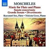 Moscheles: Works For Flute & Piano [Kazunori Seo; Makoto Ueno] [NAXOS: 8573175] by Kazunori Seo (2014-12-13)