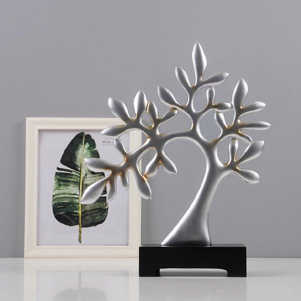 CHENGYI Moderne Minimalistische Kreative Harz Skulptur Baum Handwerk ...