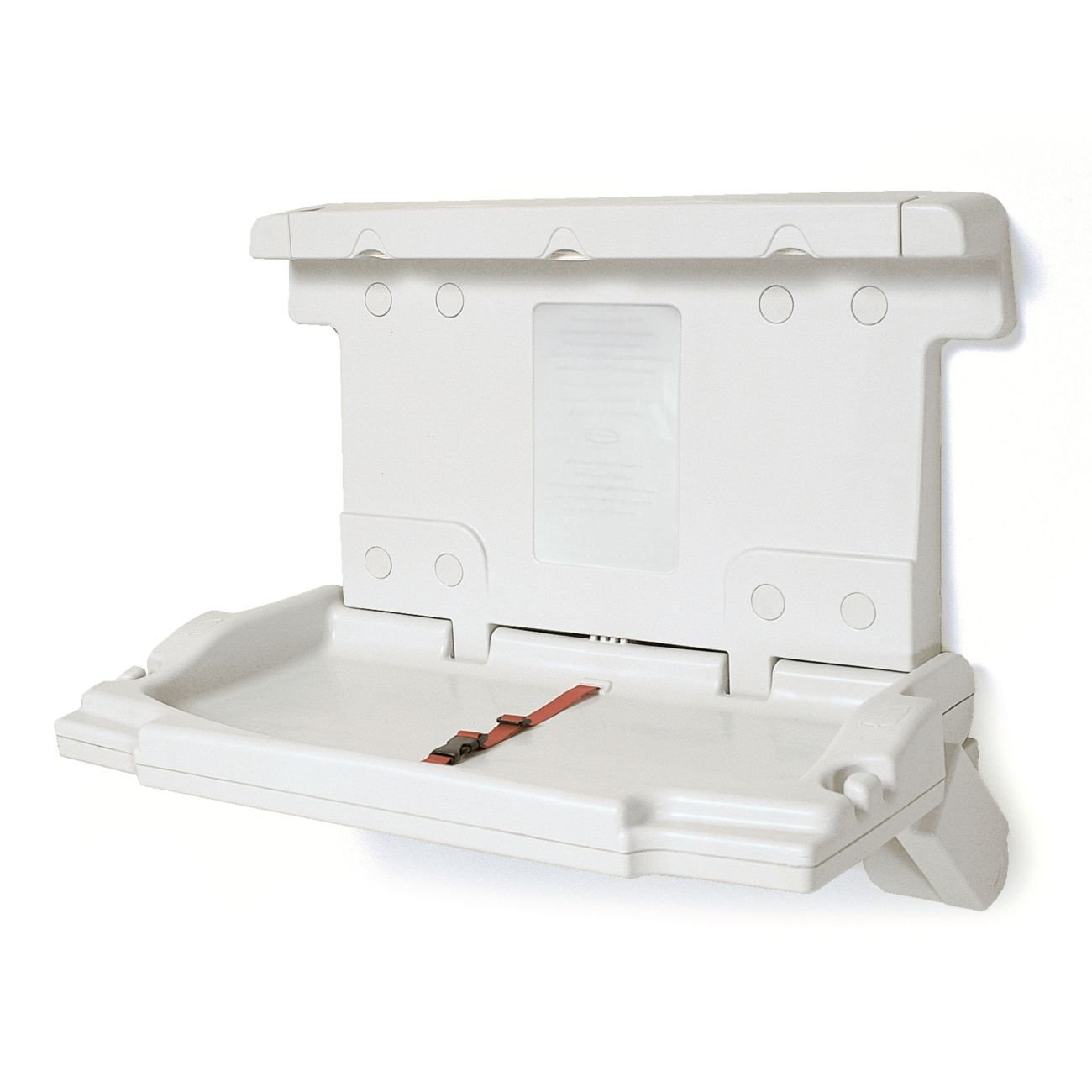 Light Platinum Rubbermaid Commercial Horizontal Baby Changing Station 33.25-Inch Length x 21.5-Inch Width x 4-Inch Height FG781888LPLAT
