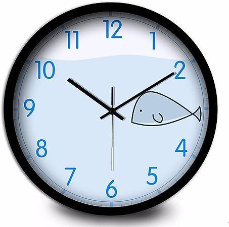 Horloge Simple Muet Horloge Little Whale Beau Dessin
