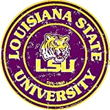 Signs 4 Fun SRCLSU Louisiana State Univ. Tiger Round