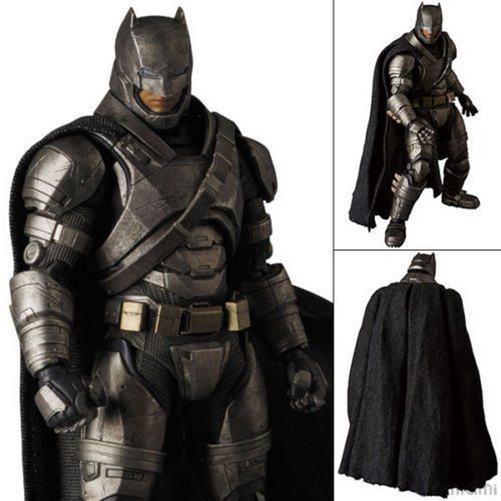 Medicom Toy MAFEX 023 Batman vs Superman Dawn of Justice Figure Rmored Batman - Hot choice